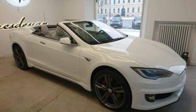 Tesla Model S: a cielo aperto come la Maserati GranCabrio?