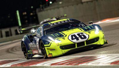Valentino Rossi terzo nella categoria Pro-Am alla 12 Ore del Golfo