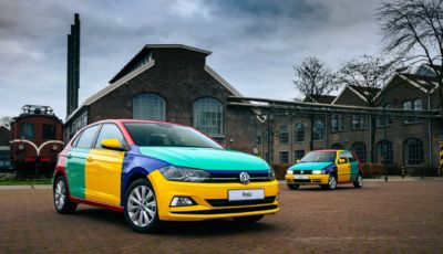Volkswagen Polo: a Carnevale torna la versione Harlequin
