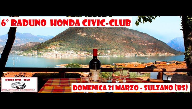 6° raduno Hnda Civic