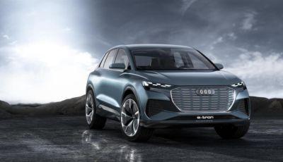 Audi Q4 e-tron, al via le prenotazioni