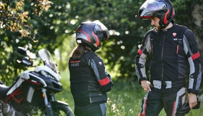 Ducati, non solo moto: arriva il gilet con airbag Smart Jacket