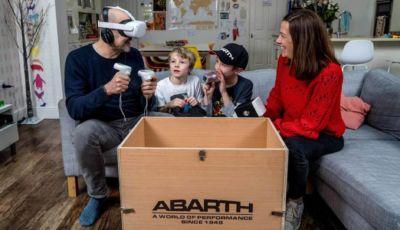 Test drive in realtà virtuale? Con la gamma Abarth 595 si può!