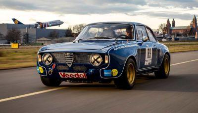 Rarissima Alfa Romeo Giulia Sprint 1600 GTA Corsa finisce all'asta