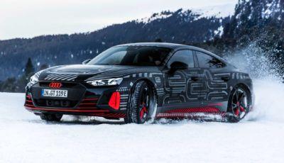 Audi e-tron GT: svelata la Gran Turismo elettrica da 500 CV