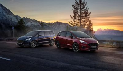 Ford S-Max e Galaxy Hybrid: ecco le multispazio ibride a 7 posti