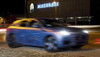 Maserati Grecale: il SUV del Tridente inizia i test su strada