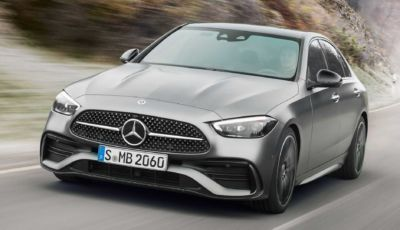 Nuova Mercedes Classe C: berlina e station wagon all'insegna dell'ibrido