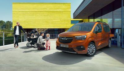 Opel Combo e-Life: la monovolume per le famiglie si elettrifica