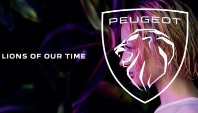 Peugeot: la Casa del Leone rinnova il proprio logo