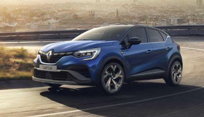 Renault Captur 2021: l'allestimento sportivo R.S. Line parte da 28.400 Euro