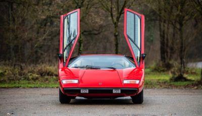Lamborghini by Sotheby's: Miura SV e Countach LP400 a cifre stellari!