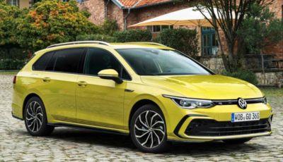 Volkswagen Golf 8: il listino della Variant e della Alltrack parte da 27.050 Euro