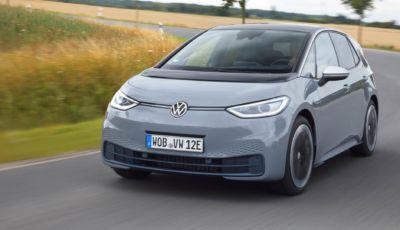 Volkswagen ID.3: disponibile l'entry-level City da 24.800 Euro