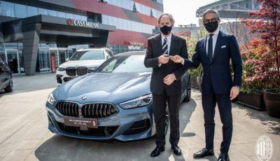 BMW diventa sponsor del Milan: auto e calcio, un binomio vincente