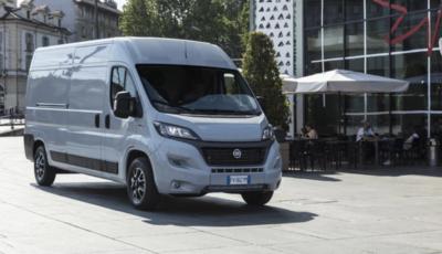 Al via gli ordini dell'innovativo E-Ducato di Fiat Professional