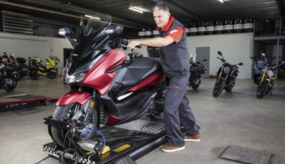 Honda: garanzia più lunga per scooter e moto
