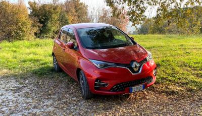 Test Drive Renault ZOE 100% elettrica