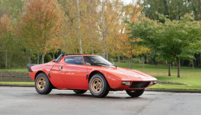 Lancia Stratos da record: in vendita a 560.000 euro