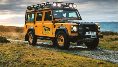 Land Rover Defender Works V8 Trophy 2021: la serie speciale in 25 esemplari
