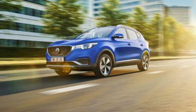 MG torna sul mercato italiano con i modelli ZS EV e C EHS
