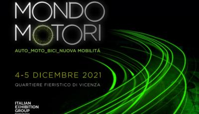 MondoMotori torna il 4 e 5 dicembre 2021