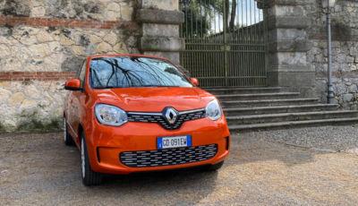 Prova su strada della Renault Twingo elettrica Vibes