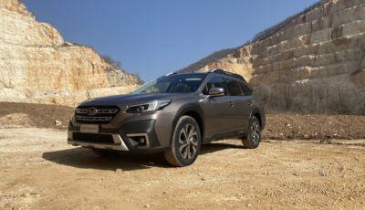 Subaru Outback MY2021: primo contatto con il rinnovato SUV familiare