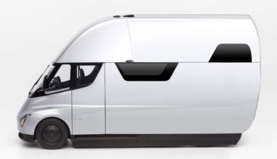 Tesla: la nuova idea è un furgone alimentato da pannelli solari