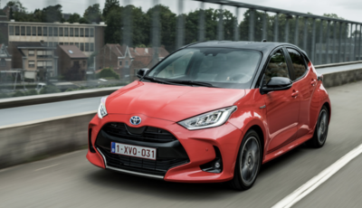 Toyota Yaris vince il titolo di The Car of the Year 2021