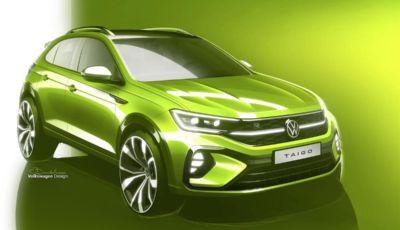 Volkswagen Taigo: le prime immagini del SUV compatto in arrivo nel 2022