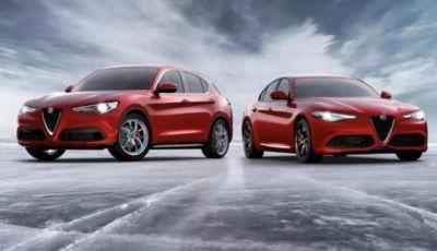 Alfa Romeo Giulia e Stelvio: la Rosso Edizione da 349 Euro al mese