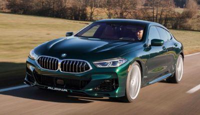 Alpina B8 Gran Coupé: la BMW Serie 8 ancora più sportiva ed elegante
