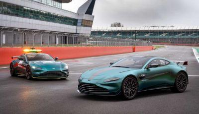 Aston Martin: ecco la Vantage F1 Edition da 535 cavalli