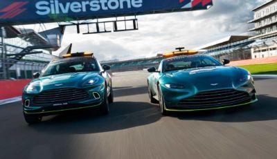 Aston Martin in F1: in pista con Vettel… e con la Safety Car!