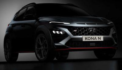 Hyundai Kona N 2021: il SUV sportivo si mostra al pubblico