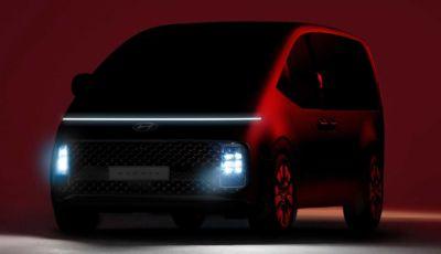 Hyundai Staria: la monovolume del futuro