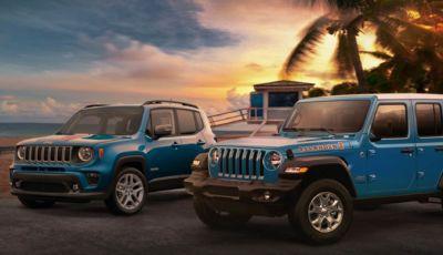 Jeep: torna l'edizione speciale Islander per Renegade e Wrangler