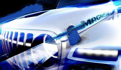 Jeep Wrangler EV: la versione elettrica si chiamerà Magneto?