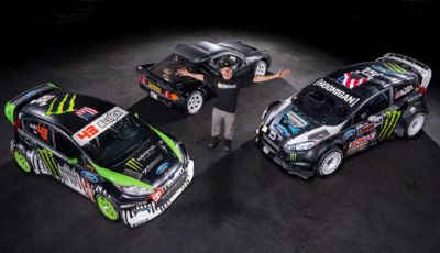 Ken Block mette all'asta le sue Ford da Gymkhana!