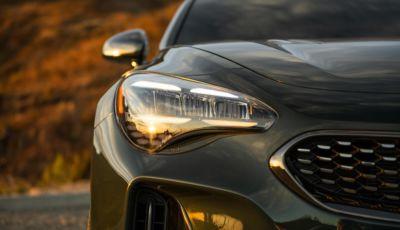 Kia Stinger 2022: più potente, tecnologica e bella da vedere