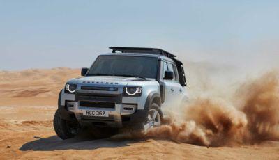 Land Rover: il Defender 130 a sette posti arriverà nel 2022
