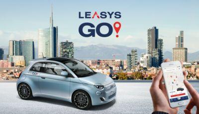LeasysGO: tutti i dettagli sul car-sharing della Fiat 500