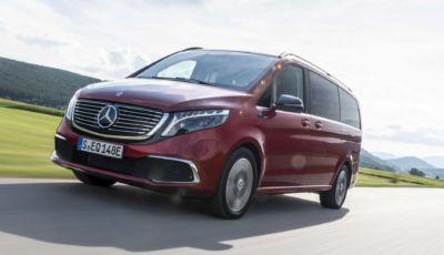 Mercedes EQV: il multi-spazio tedesco si elettrifica