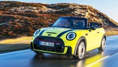 """Mini Cabrio 2021: la Cooper """"scoperta"""" si tinge di giallo"""