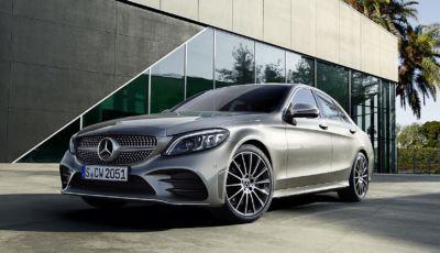 Mercedes Classe C 2021: sei allestimenti e prezzi da 50.990 Euro