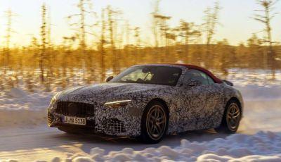 Mercedes-AMG SL MY2021: test drive tra le nevi della Svezia