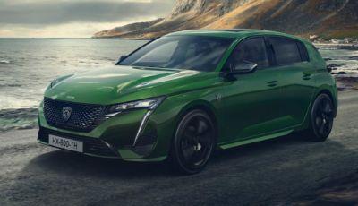 "Peugeot 308: la ""full electric"" arriva nel 2023"