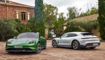 Porsche Taycan Cross Turismo: la sportiva elettrica sposa l'off-road (leggero)