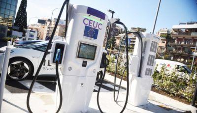 Enel X e Gruppo Volkswagen inaugurano un'innovativa stazione di ricarica per auto elettriche a Roma